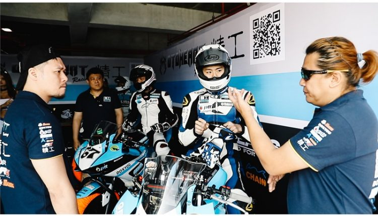 阿威認為台灣在組織車隊、運作方面是有競爭力的。(郭吉銓攝)