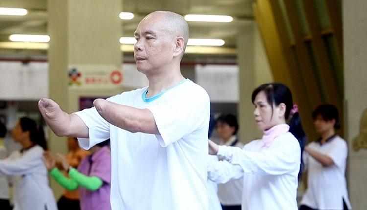 蔡濱鴻代表新北市參加太極拳比賽,獲得不少好成績。(陳信翰攝)