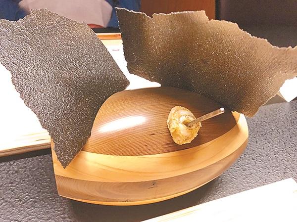 浜田統之的創意法國料理。(星野集團提供)