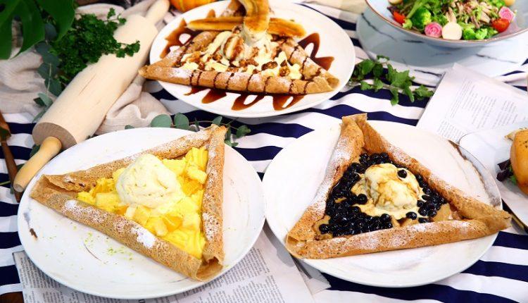 法式薄煎餅-3種甜點口味