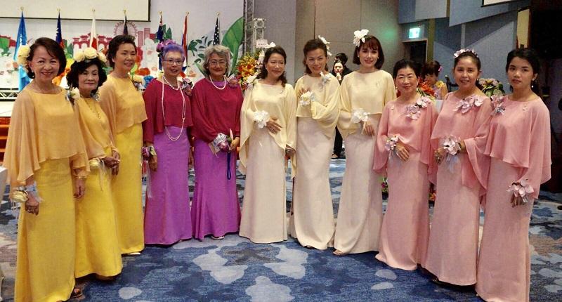 泰國代表團參加文化之夜