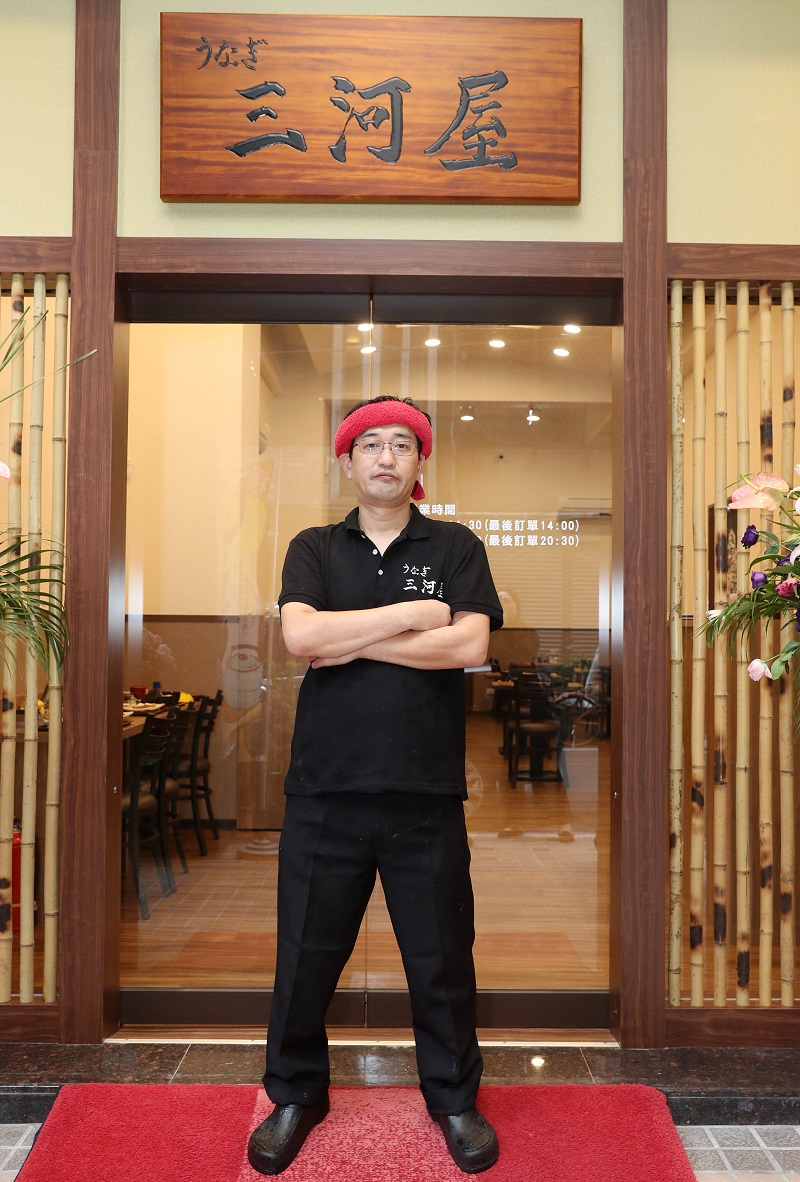 三河屋社長中川浩希頂著新加玻米其林必比登推介餐廳主廚的光環,以社長兼主廚之姿來台展店。